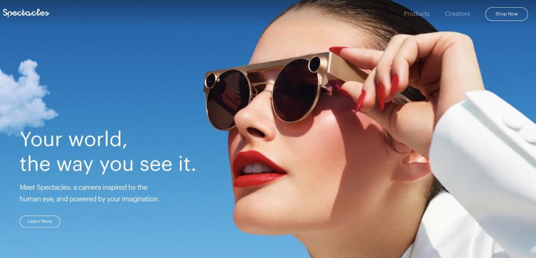 SnapchatのスマートグラスSpectacles 3とは?スペックや特徴を紹介