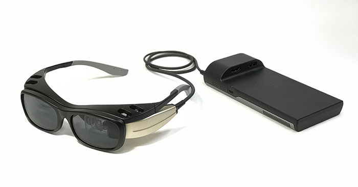 網膜照射の新型ARグラス「RETISSA(R) Display II」